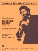 Robert Schumann - Märchenbilder op. 113 – Klarinette Klavier - Partition - di-arezzo.fr