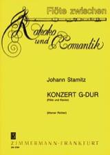 Johann Stamitz - Konzert G-Dur - Partition - di-arezzo.fr