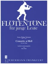 Concerto a-moll - 3 Flöten Georg Philipp Telemann laflutedepan.com