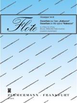 Ouverture de Nabucco - Giuseppe Verdi - Partition - laflutedepan.com