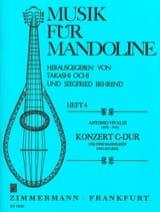 Konzert C-Dur -2 Mandolinen u. Gitarre VIVALDI laflutedepan.com
