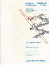 BOISMORTIER - Concerto in D major op. 26 for bassoon - Sheet Music - di-arezzo.co.uk