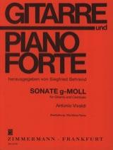 VIVALDI - Sonata in Sol Min. - Sheet Music - di-arezzo.co.uk