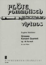 Grosses Konzert-Quartett fis-moll – 4 Flöten - laflutedepan.com