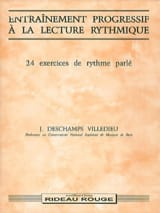 24 Exercices - Entrainement progressif à la lecture rythmique laflutedepan.com