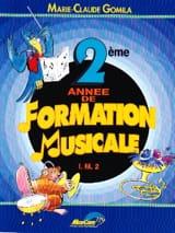 Marie-Claude Gomila - 2do año de formación musical - IM2 - Partitura - di-arezzo.es