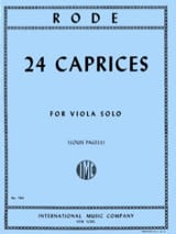 Pierre Rode - 24 Caprices - Viola Pagels - Sheet Music - di-arezzo.co.uk