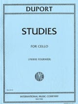 Jean Louis Duport - Studies for Cello - Sheet Music - di-arezzo.com