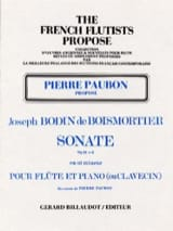 Sonate op. 91 n° 6 - Flûte et piano ou clavecin laflutedepan.com