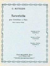 Tarentella Giovanni Bottesini Partition Contrebasse - laflutedepan.com