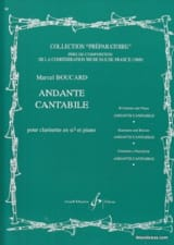 Andante cantabile Marcel Boucard Partition laflutedepan.com
