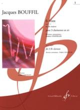 6 Trios – op. 7 n° 1 en ut - Jacques-Jules Bouffil - laflutedepan.com