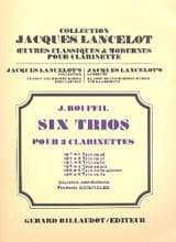 6 Trios - op. 7 n° 3 en fa Jacques-Jules Bouffil laflutedepan.com