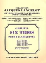 Jacques-Jules Bouffil - 6 Trios – op. 7 n° 3 en fa - Partition - di-arezzo.fr