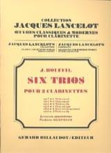 Jacques-Jules Bouffil - 6 Trios – op. 8 n° 1 en sol - Partition - di-arezzo.fr