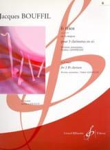 6 Trios Jacques-Jules Bouffil Partition Clarinette - laflutedepan.com