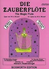 MOZART - Die Zauberflöte - Ensemble Fl. A Bec (+ Percu) - Partition - di-arezzo.fr