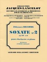BRAHMS - Sonate N° 2 Op. 120 N°2 - Partition - di-arezzo.fr