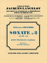 Johannes Brahms - Sonate N° 2 Op. 120 N°2 - Partition - di-arezzo.ch