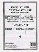 Leo Portnoff - Canción de cuna eslava - Partitura - di-arezzo.es