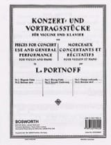 Leo Portnoff - Slawisches Wiegenlied - Noten - di-arezzo.de