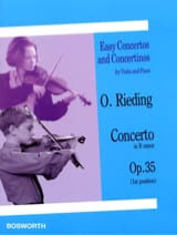 Oskar Rieding - Concerto op. 35 in B minor - Sheet Music - di-arezzo.co.uk