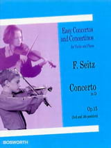 Friedrich Seitz - Concerto in Re Opus 15 - Sheet Music - di-arezzo.co.uk
