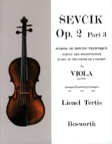 Otakar Sevcik - Studies Opus 2 / Part 3 - Alto - Sheet Music - di-arezzo.co.uk