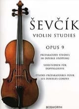 Otakar Sevcik - Etudes Opus 9 - Violin - Sheet Music - di-arezzo.co.uk