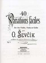40 Variations Faciles Opus 3 – Piano Acc. laflutedepan.com