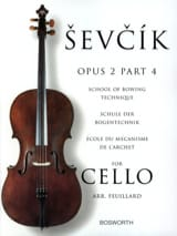 Otakar Sevcik - Studies Opus 2 / Part 4 - Cello - Sheet Music - di-arezzo.com