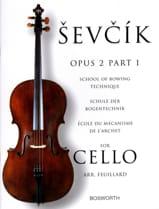 Etudes Opus 2 / Partie 1 - Violoncelle Otokar Sevcik laflutedepan.com