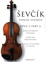 Etudes Opus 2 / Partie 6 - Violon Otakar Sevcik laflutedepan.com