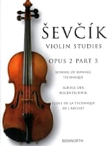 Otakar Sevcik - Etudes Opus 2 / Part 5 - Violin - Sheet Music - di-arezzo.co.uk