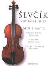 Otakar Sevcik - Etudes Opus 2 / Part 2 - Violin - Sheet Music - di-arezzo.co.uk