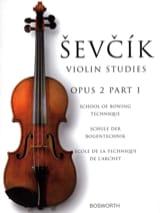 Etudes Opus 2 / Partie 1 - Violon Otokar Sevcik laflutedepan.com