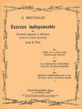 Exercice indispensable - Giulio Briccialdi - laflutedepan.com