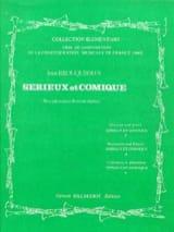 Sérieux et Comique Jean Brouquières Partition laflutedepan.com