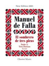 Manuel de Falla - El sombrero de tres picos - Suite 2 - Partition - di-arezzo.fr