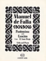 Manuel de Falla - Pantomima and Cancion from El Amor Brujo - Partition - di-arezzo.fr