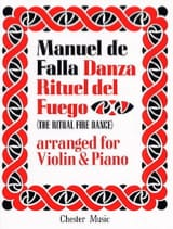 DE FALLA - Danza Ritual del Fuego - Violin - Sheet Music - di-arezzo.co.uk