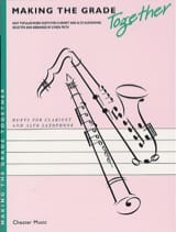 Making the grade together - Duet clarinet alto sax laflutedepan