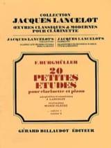 Frédéric Burgmüller - 20 Petites études - Volume 1 - Partition - di-arezzo.fr
