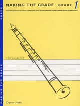 Jerry Lanning - Making the grade Clarinet – Grade 1 - Partition - di-arezzo.fr