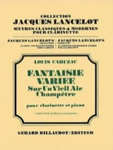 Louis Cahuzac - Varied fantasy - Sheet Music - di-arezzo.com