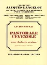 Pastorale cévenole Louis Cahuzac Partition laflutedepan.com