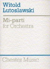 Witold Lutoslawski - Mi-Parti - Score - Partition - di-arezzo.fr