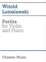 Partita Witold Lutoslawski Partition Violon - laflutedepan.com