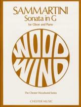 SAMMARTINI - Sonata in G major - Sheet Music - di-arezzo.com