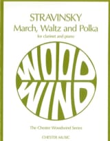March, Waltz And Polka Igor Stravinsky Partition laflutedepan.com
